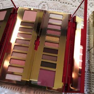 Estee lauder eye&cheek palette lipsticks
